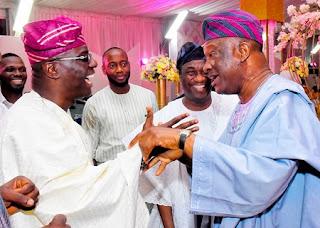 Jimi Agbaje and Sanwo-Olu