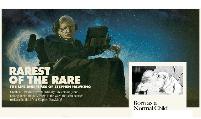 Rarest of the Rare: The Life And Times of Stephen Hawking