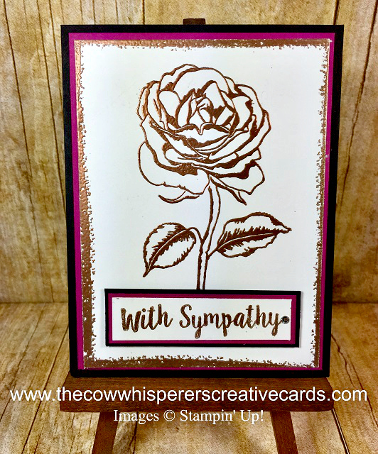 Card, Sympathy, Better Together, Graceful Garden, Projects