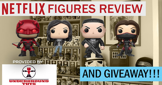 Free Giveaway & Netflix Funko Pop Review  provided by Underground Toys