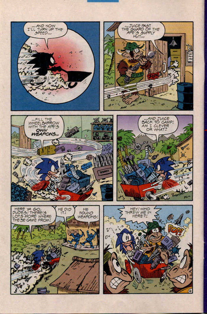 Read online Sonic The Hedgehog comic -  Issue #45 - 7