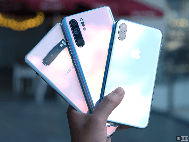Samsung Galaxy S10+ vs Huawei P30 Pro vs Apple iPhone XS - The world's best phone yet is?