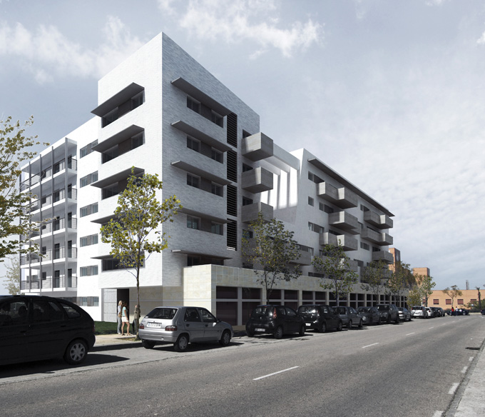 Government Apartments: I+Atelier: Government Subsidized Housing. Seville