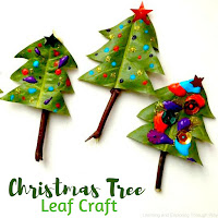 Christmas Tree Leaf Craft