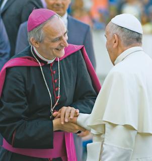 Image result for Cardinal Matteo Maria Zuppi & Francis