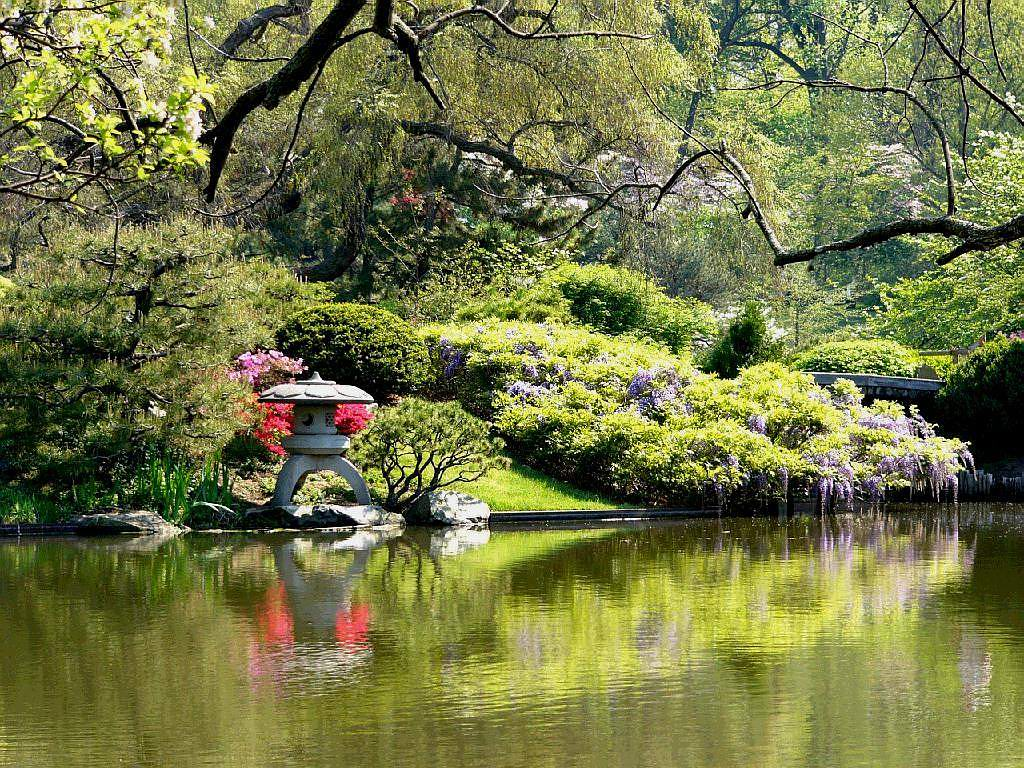 Japanese Garden Wallpapers: Let's Learn Japanese 日本語を勉強しましょう: Japanese Gardens: Nature