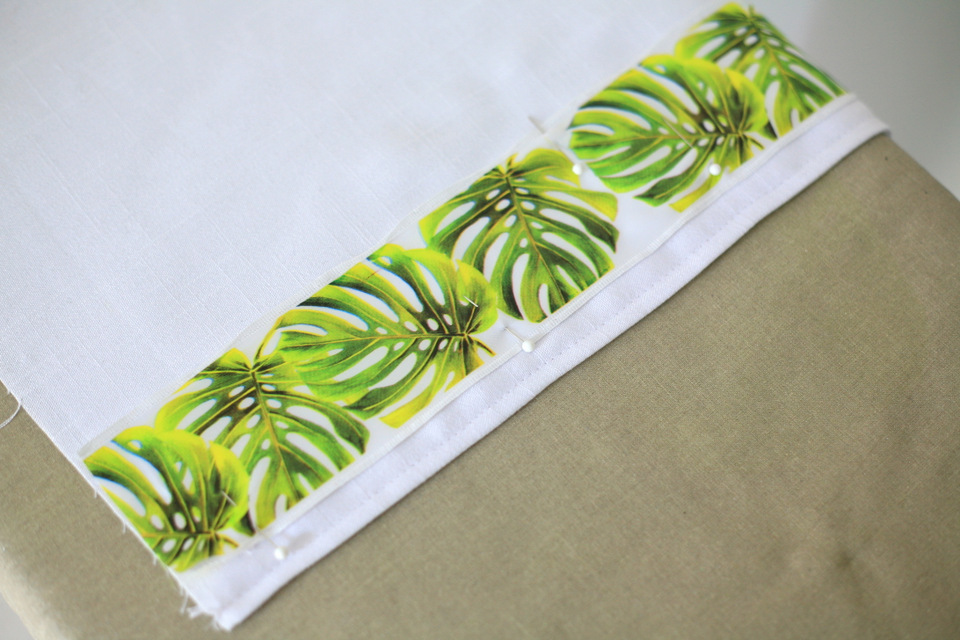 DIY ribbon trim table runner tutorial / Create / Enjoy