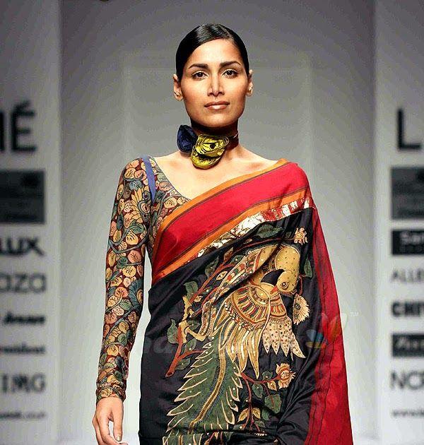 Kalamkari Full Sleeves Blouse