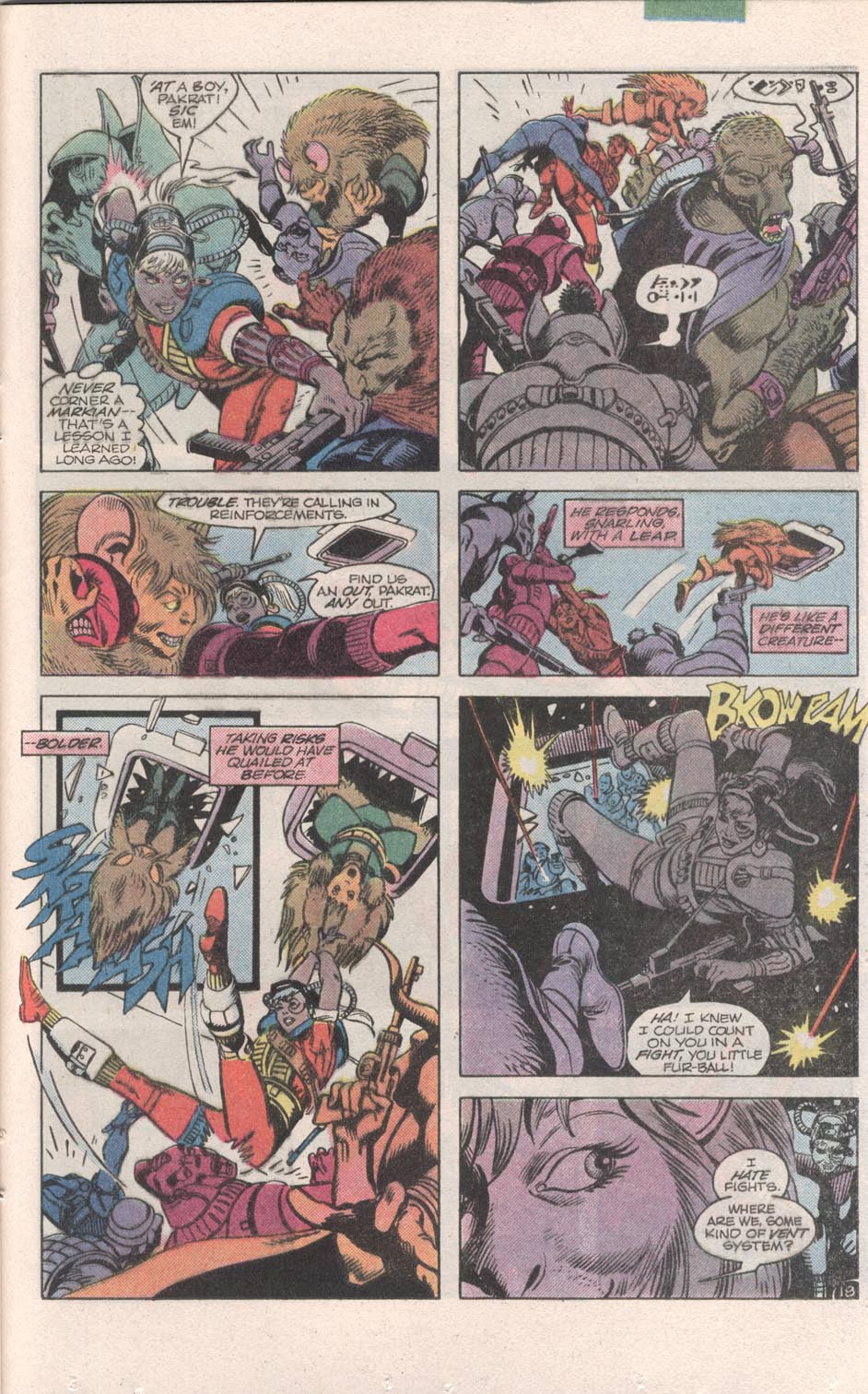 Read online Atari Force (1984) comic -  Issue #6 - 20