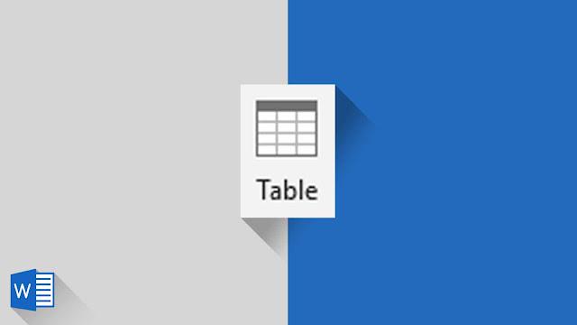Panduan Lengkap Modifikasi Struktur Tabel di Word 2019
