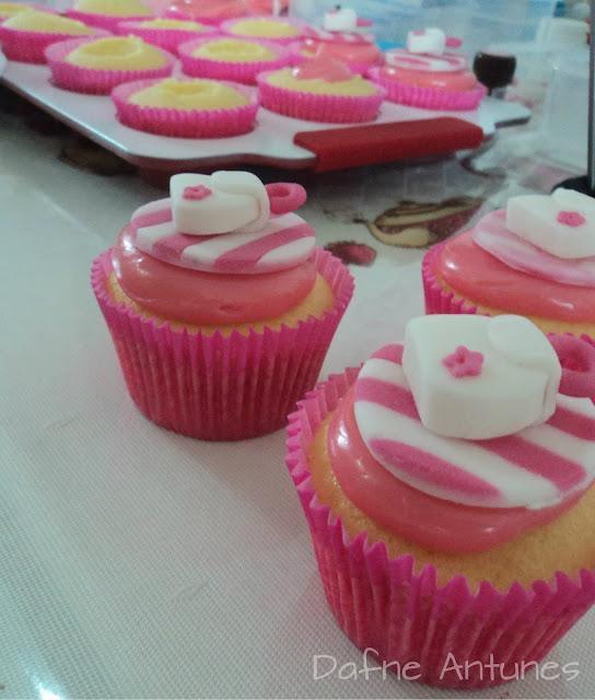 cupcakes de Bolsa da Barbie