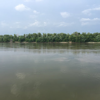 Missouri River at the Mouth of the Little Blue, Big Muddy, Missouri River Photo