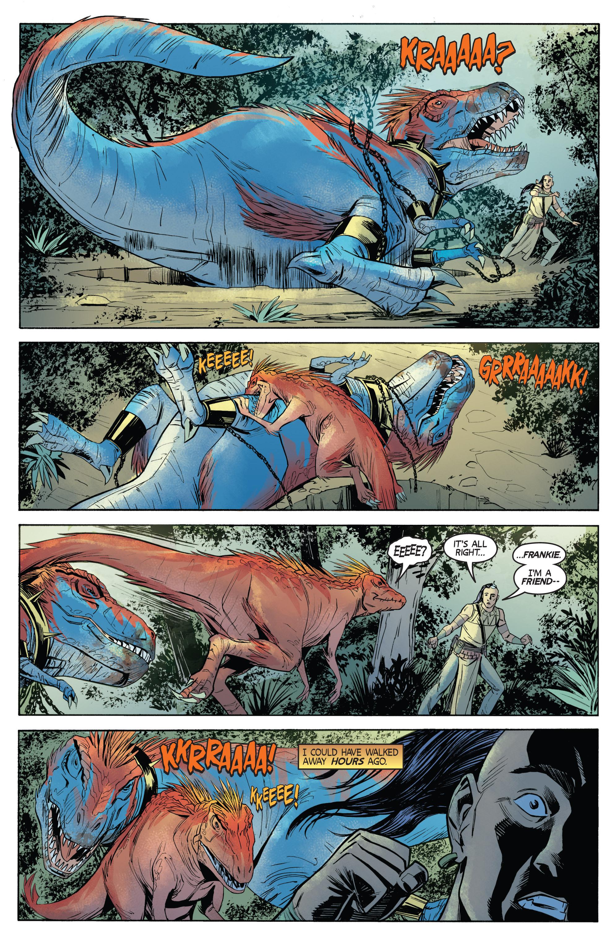 Read online Turok: Dinosaur Hunter (2014) comic -  Issue # _TPB 1 - 69