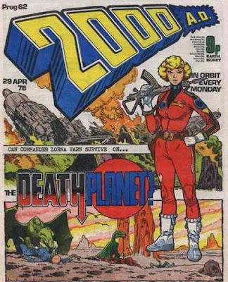 2000 AD Prog 62, Death Planet
