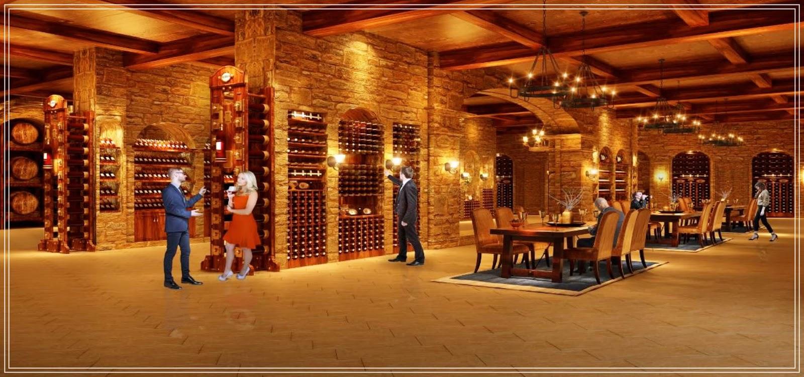 Hầm rượu độc đáo của dự án Hateco La Roma
