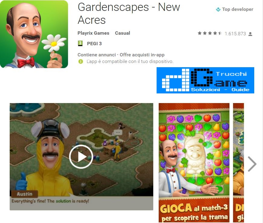 Soluzioni Gardenscapes  livello 731 732 733 734 735 736 737 738 739 740 | Trucchi e  Walkthrough level