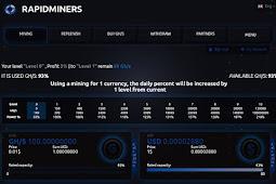 Cara Dapatkan 100 GH/s Gratis Mining Bitcoin di RapidMiners.com