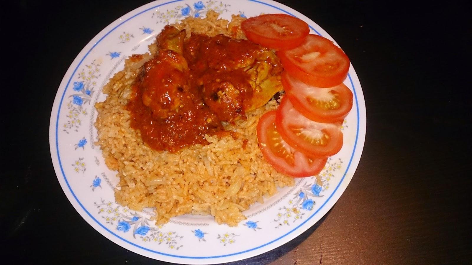 Nasi Tomato Zutaten 1 Bj Ba Merah Hiris 2 Kalau Kecil 3 Putih Seinci Halia Bunga La Cengkih Kayu Manis Buah Pelaga