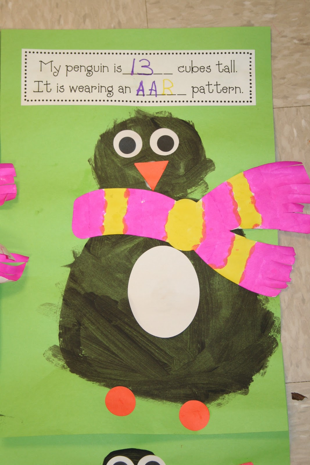 Mrs Lee S Kindergarten Penguin Math