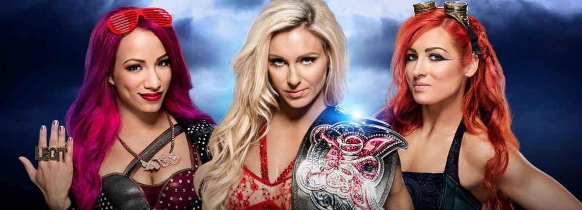 Charlotte-Becky Lynch vs Sasha Banks Wrestlemania live streaming