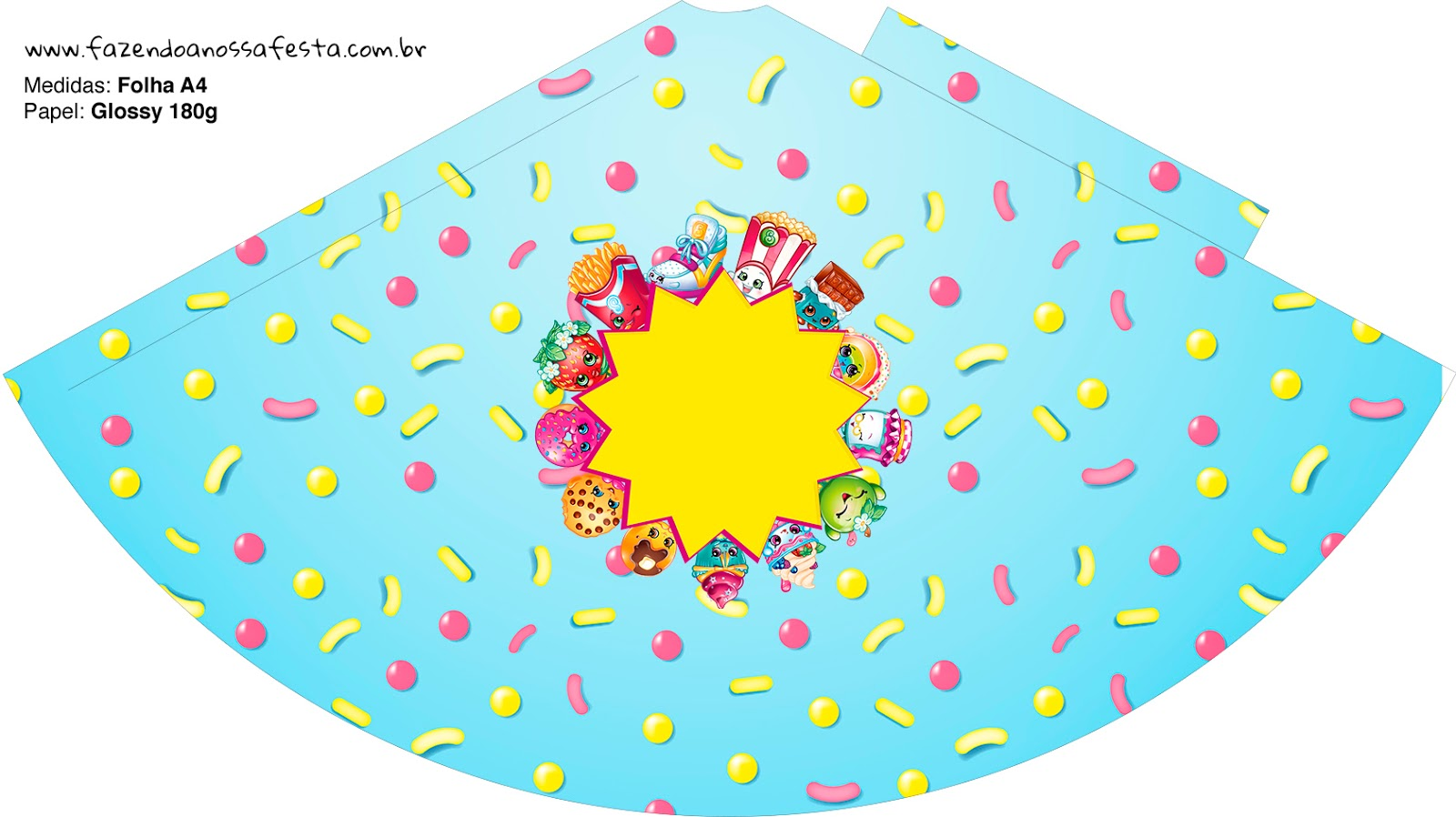 picture about Shopkins Printable named Shopkins: Absolutely free Bash Printables. - Oh My Fiesta! within just english