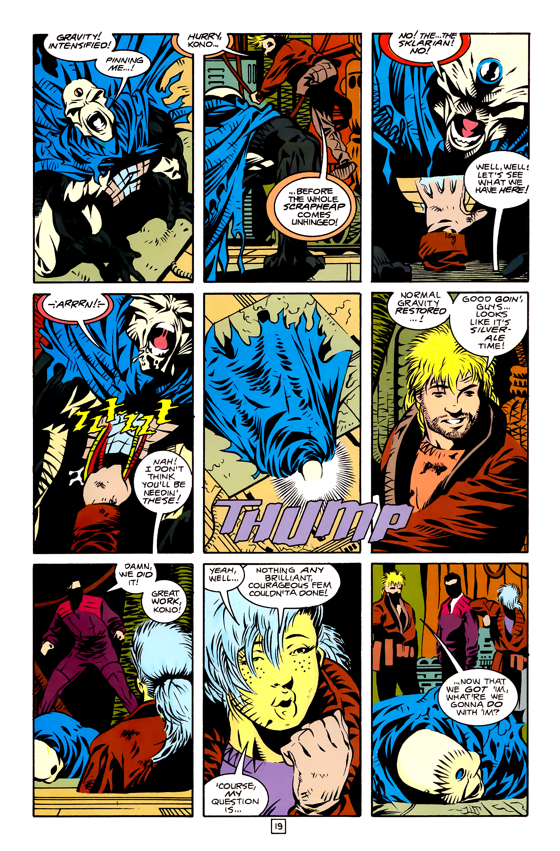 Legion of Super-Heroes (1989) 27 Page 19