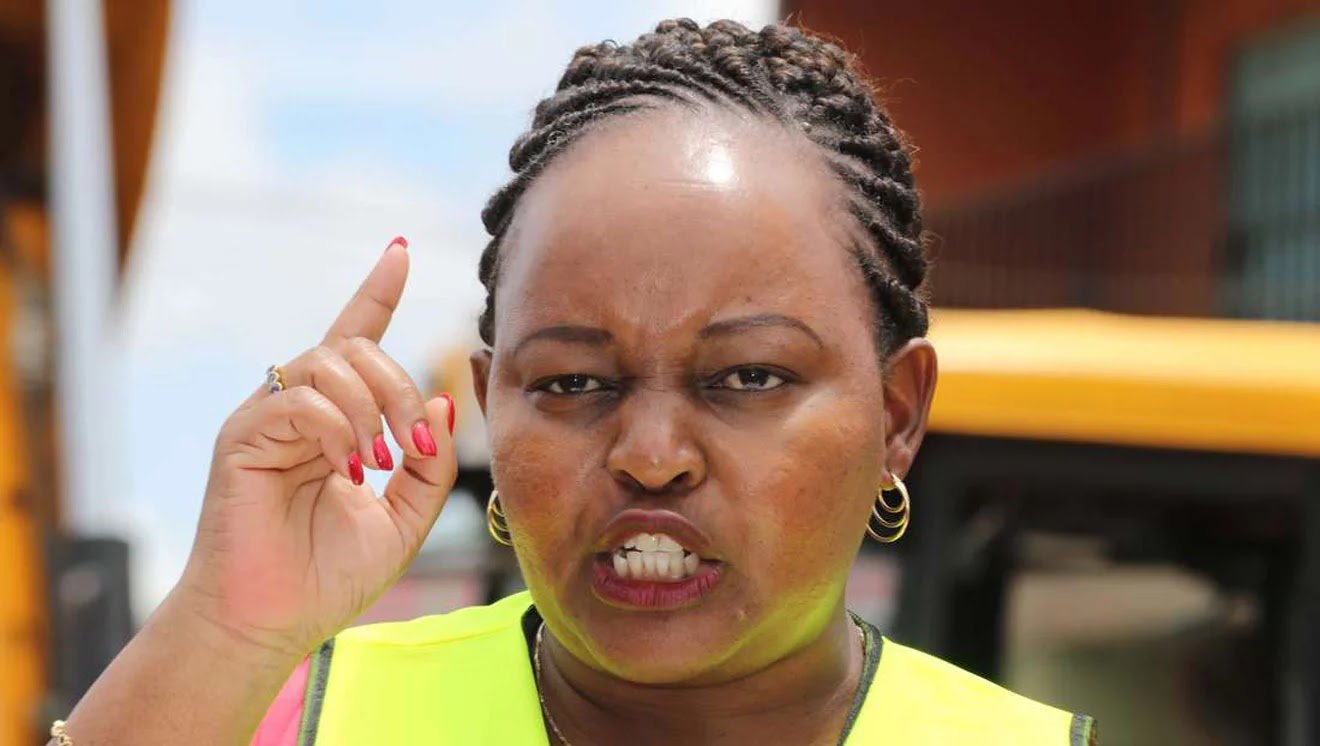 Anne Waiguru's Reaction After She Was Toppled From Her Seat By Mwangi Wa Iria