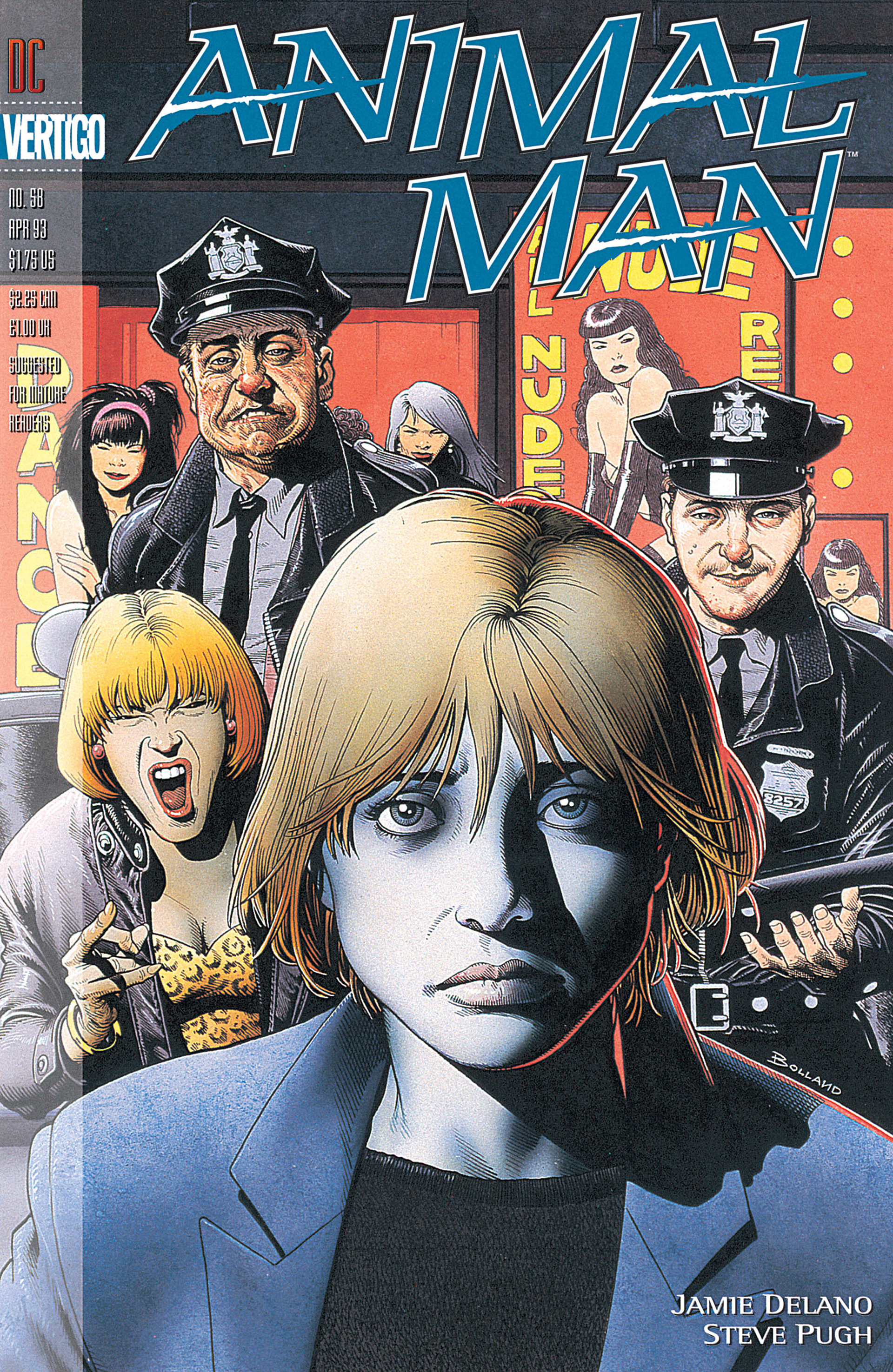 Read online Animal Man (1988) comic -  Issue #58 - 1