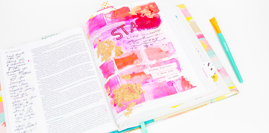 Bible Journaling with Jane Davenport by @createoften