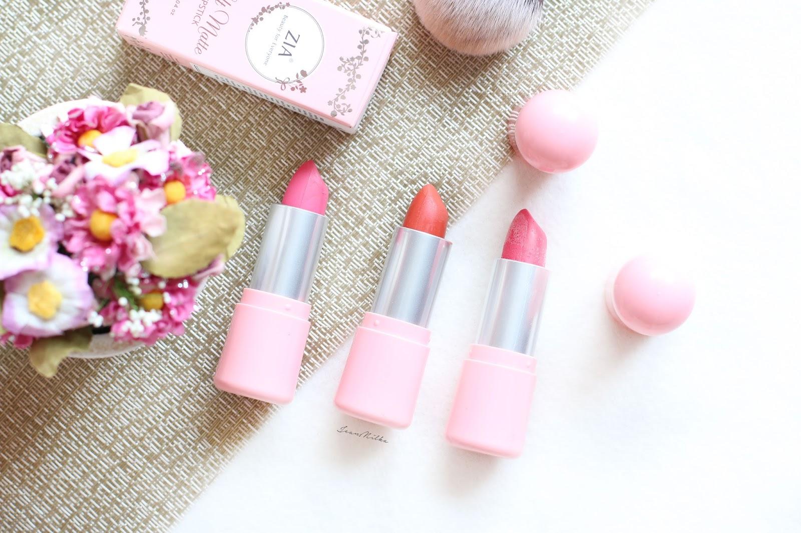 zia, zia skincare, makeup, beauty, produk indonesia, makeup indonesia, produk lokal, review, lipstick, lipstick lokal, lipstick murah