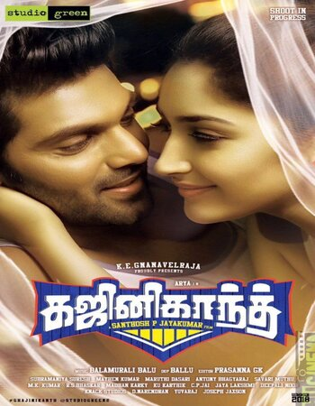 Ghajinikanth (2018) UNCUT Dual Audio Hindi 480p HDRip x264 ESubs Movie Download