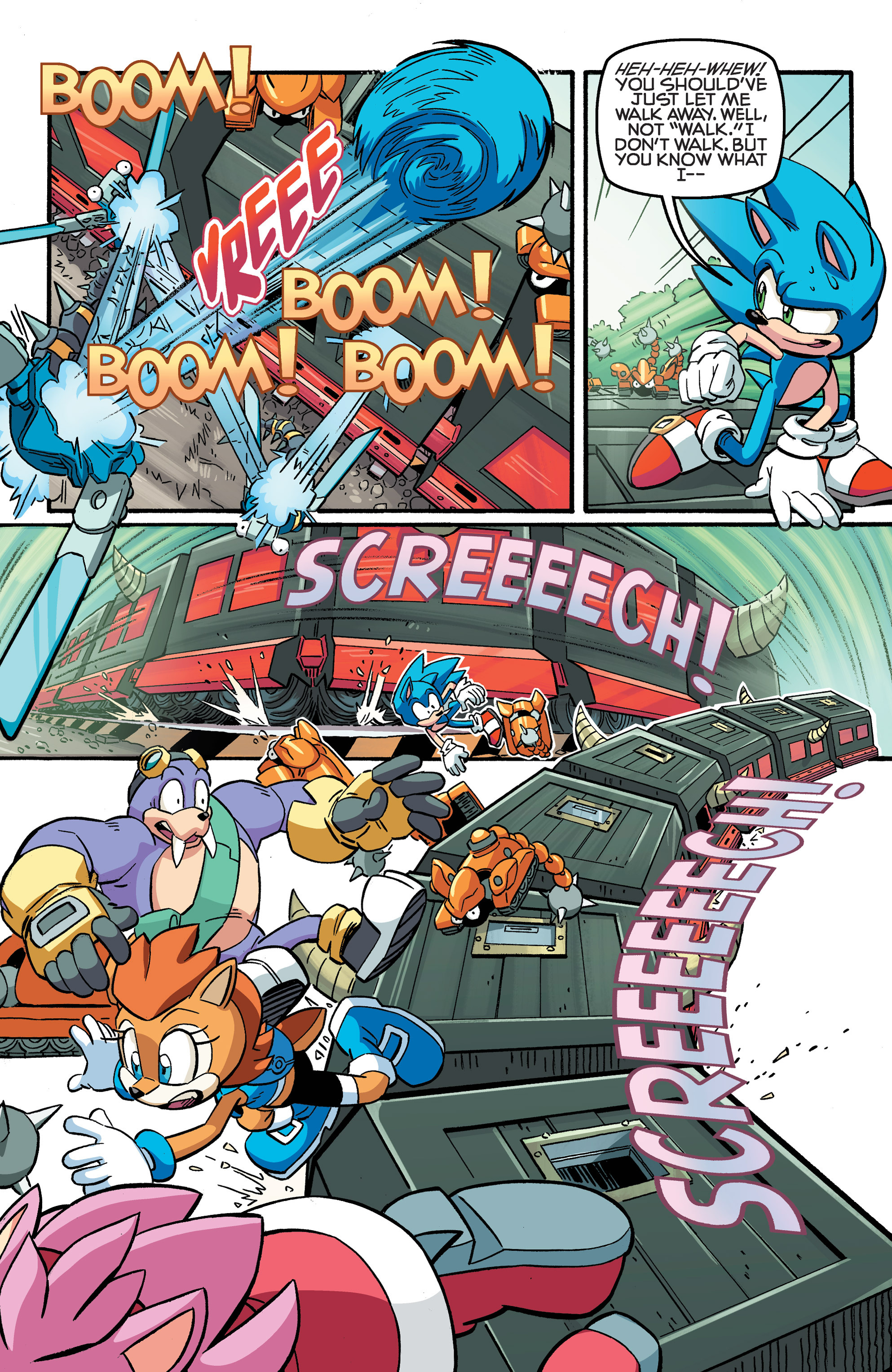 Read online Sonic The Hedgehog comic -  Issue #258 - 19