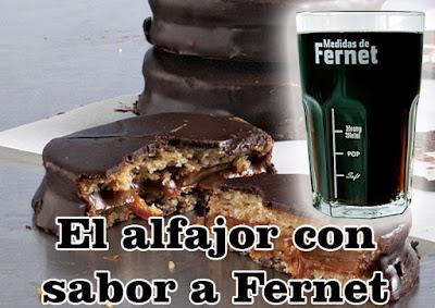 El alfajor con sabor a Fernet