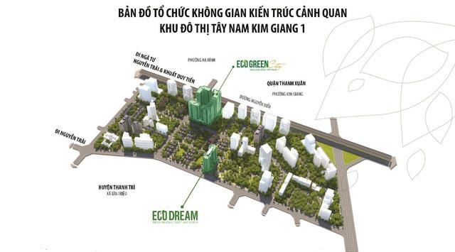Quy hoạch khu đô thị Tây Nam Kim Giang 1