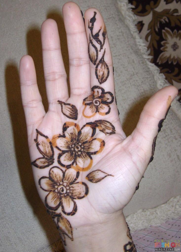 Simple Hand Mehndi Designs Arabic Chat