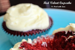 Easy No-Beat Red Velvet Cupcakes