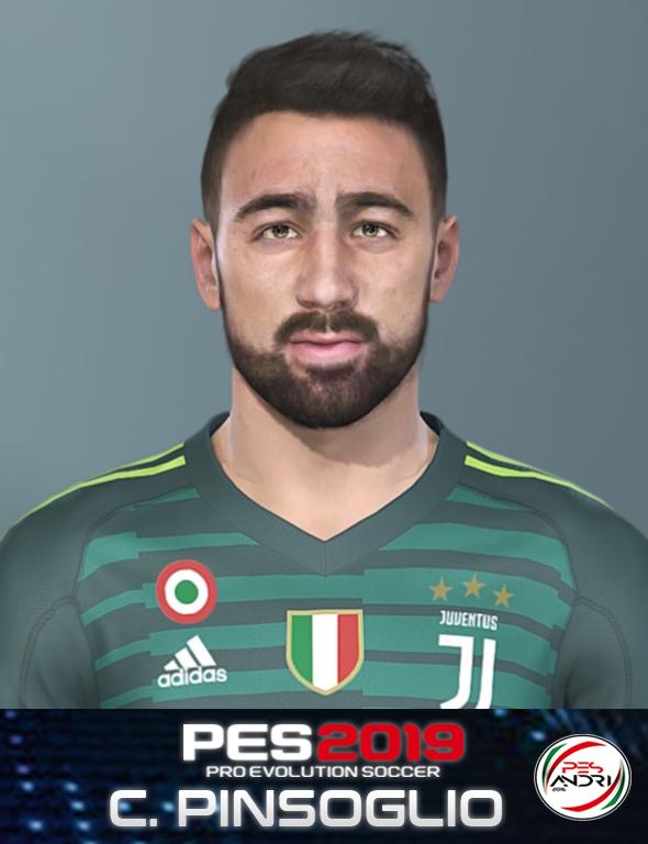 PES 2019 Carlo Pinsoglio (Juventus) Face By Sofyan Andri