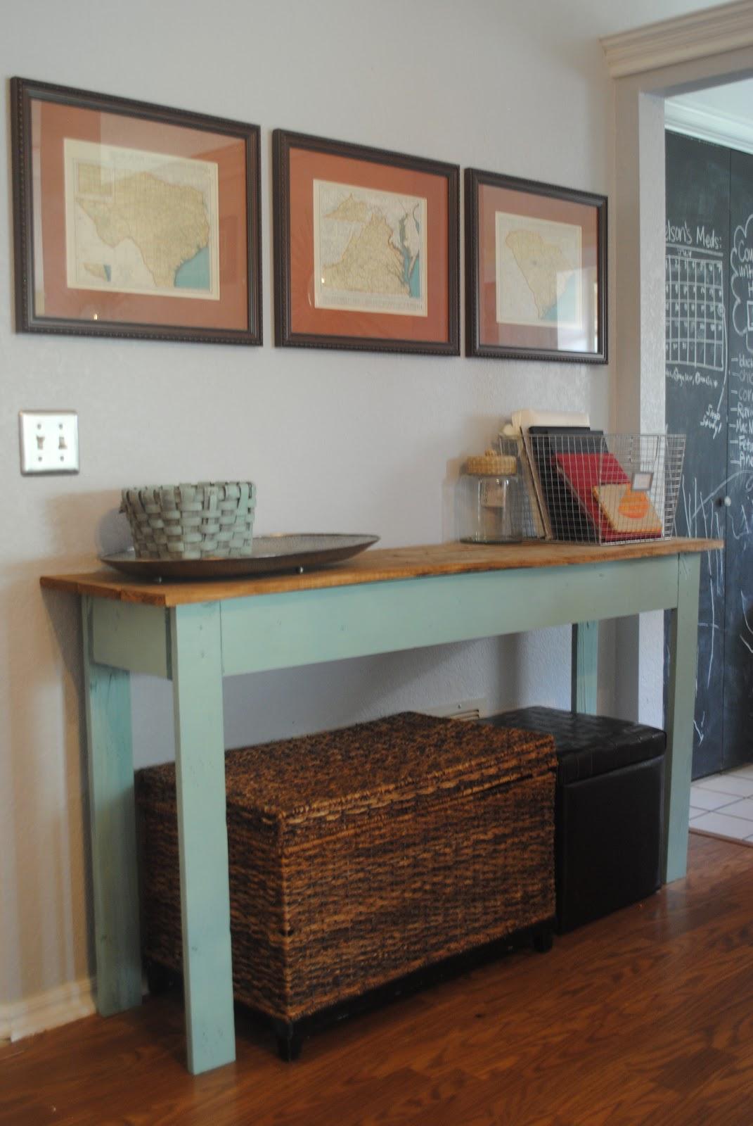 Favorite Preppy Mom: DIY Console Table + Tutorial FP21