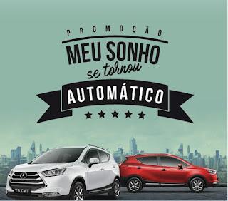 Promoção Meu Sonho se tornou automático - Jac Motors