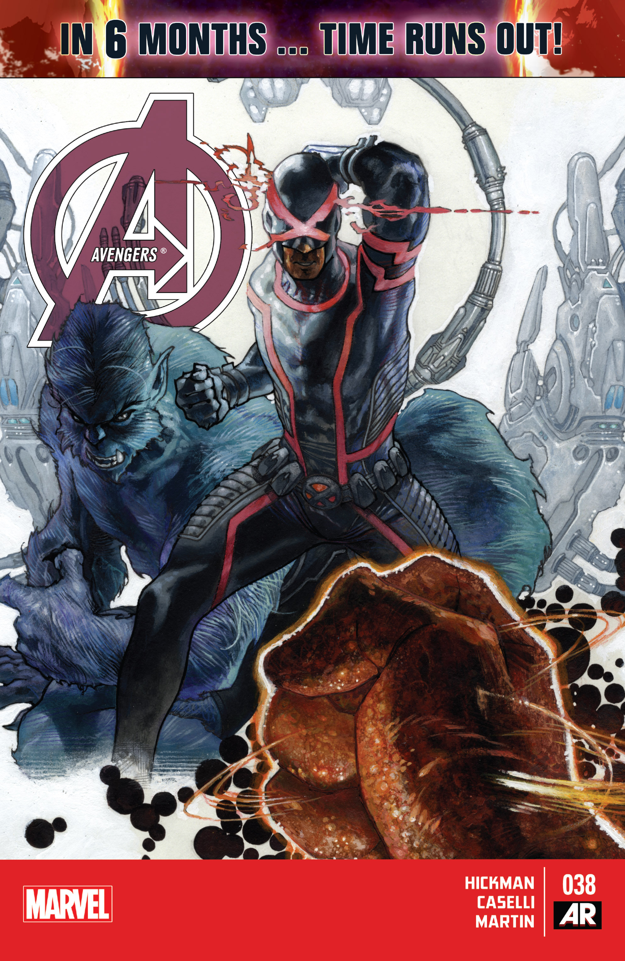 Read online Avengers (2013) comic -  Issue #38 - 1