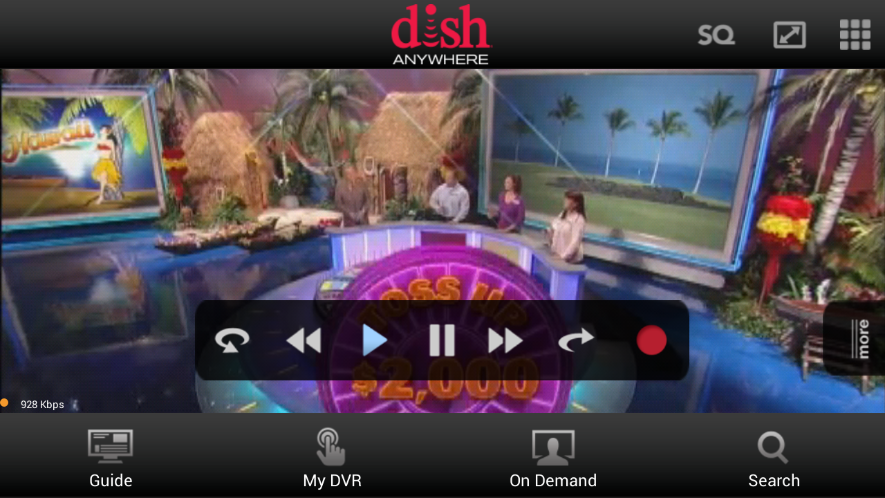 Modern Mobile Digital Life: Dish Anywhere App Review