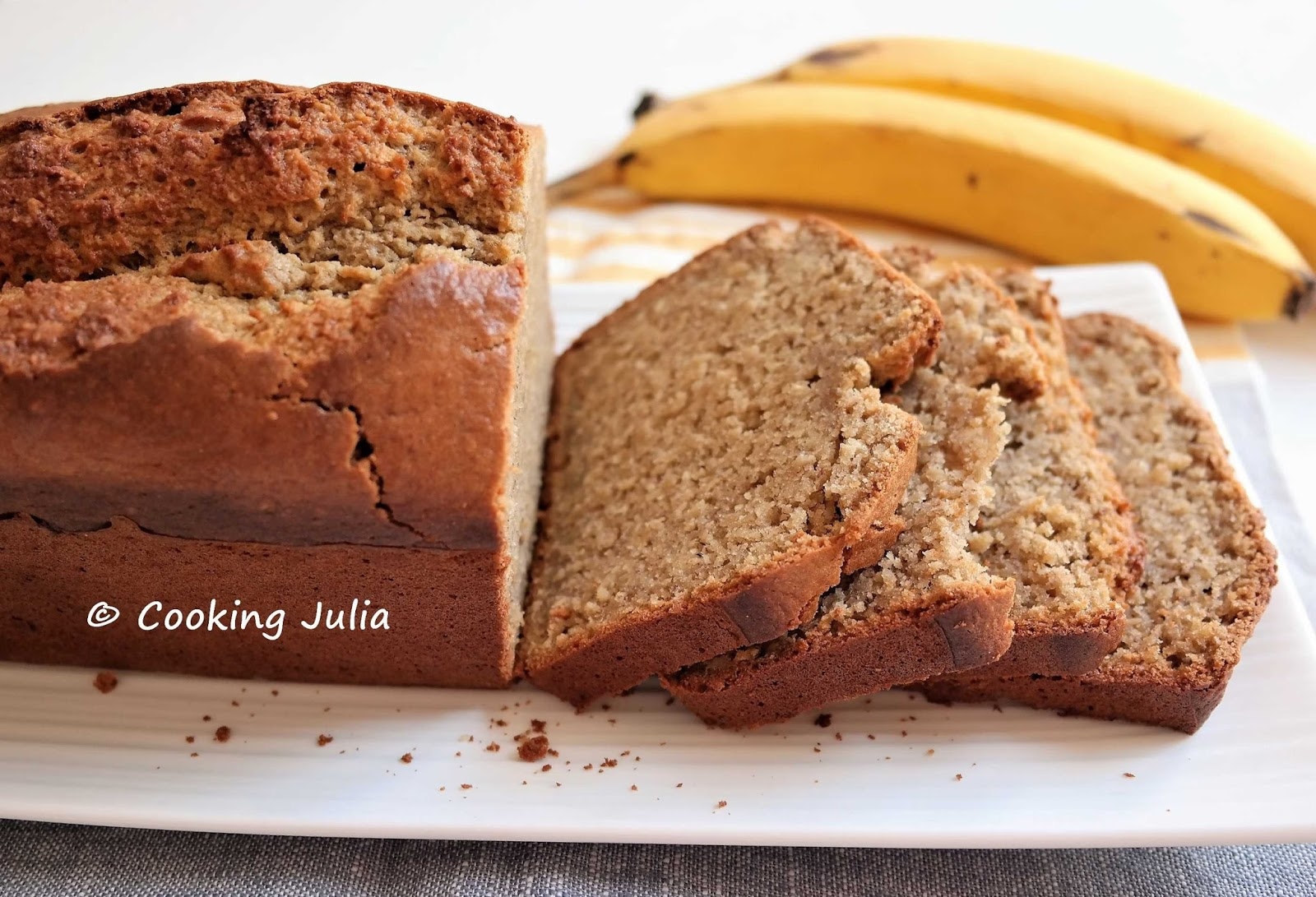 cooking julia banana bread healthy. Black Bedroom Furniture Sets. Home Design Ideas