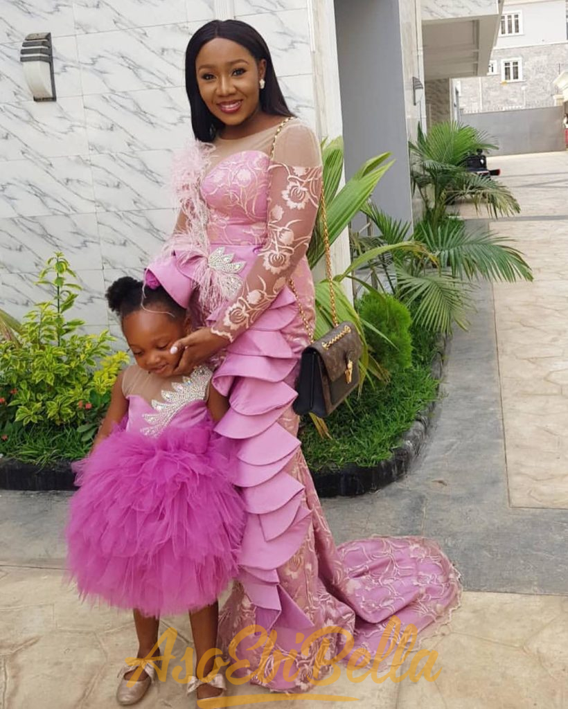 #EbFabLook Vol 44B Kids: Try This New Aso-Ebi Style For Your Kids. Worn From 10th To 20th February  2019