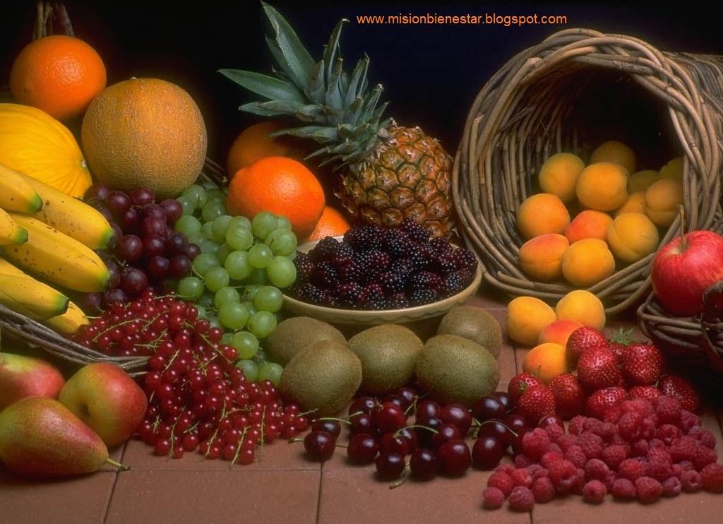 frutas y verduras con carbohidratos