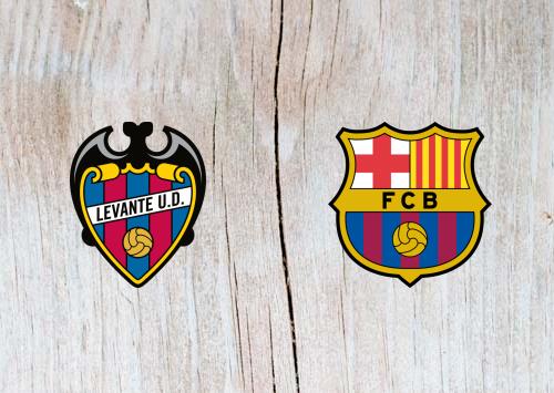 Levante vs Barcelona Full Match & Highlights 16 December 2018