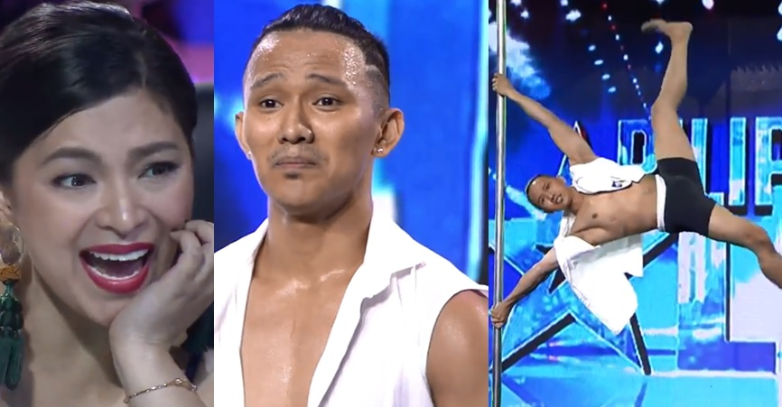 Pole dancer Johnny Villanueva wows on Pilipinas Got Talent PGT 2018