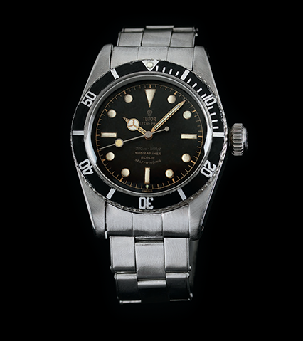 "Tudor Oyster Prince Submariner ""Big Crown"""