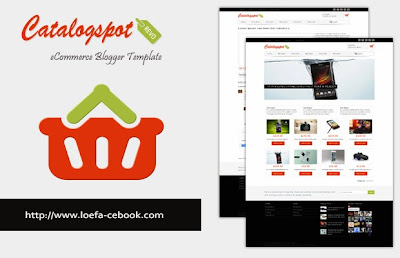 Catalogspot Revo Template Blogspot