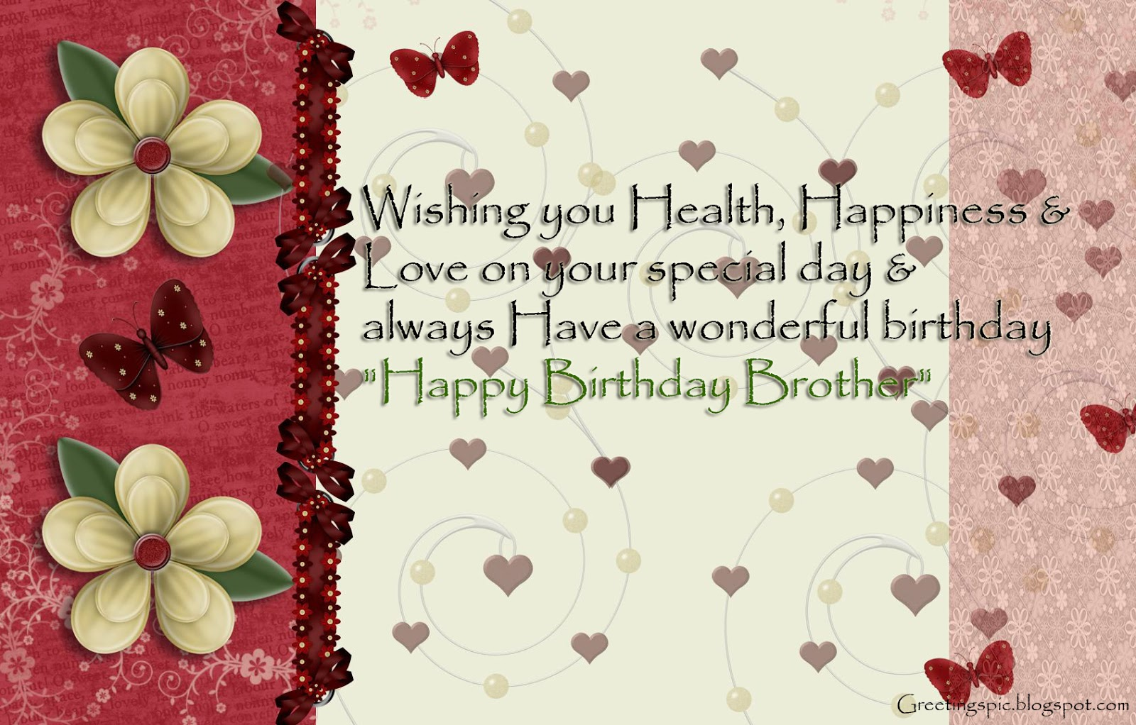 Birthday Wishes Quotes For Brother With Images