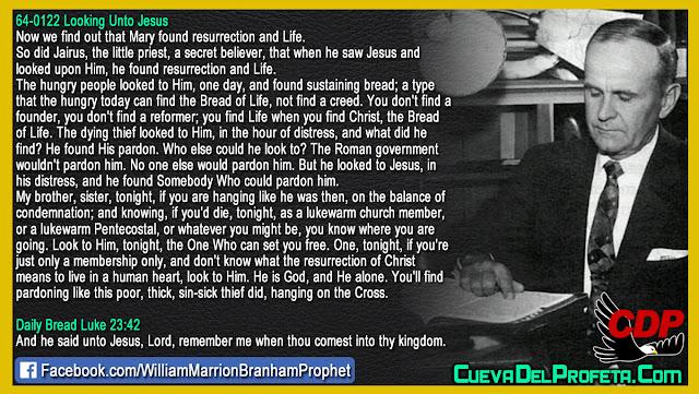 He found Somebody Who could pardon him - William Branham Quotes